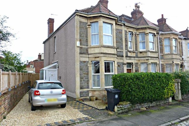 Thumbnail End terrace house for sale in Maxse Road, Knowle, Bristol