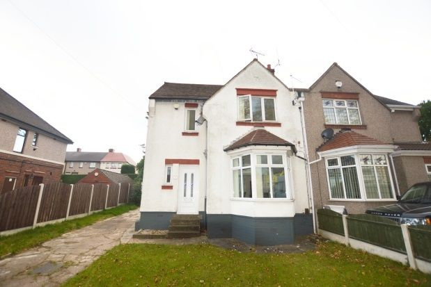 Thumbnail Semi-detached house to rent in Ridgeway Road, Hollinsend, Sheffield