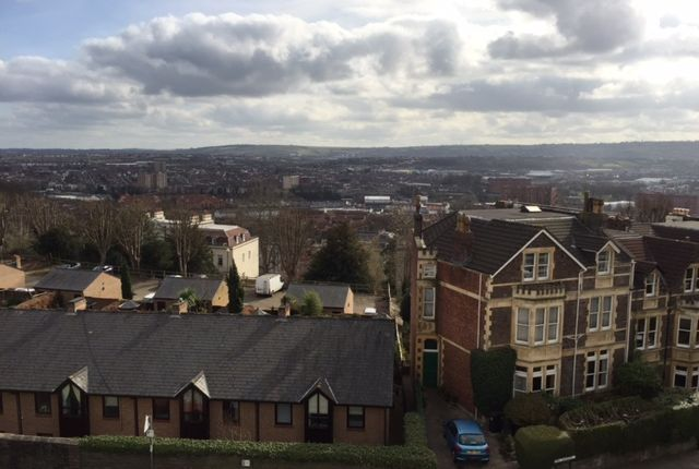 View From Front of 40 Royal York Crescent, Clifton, Bristol BS8