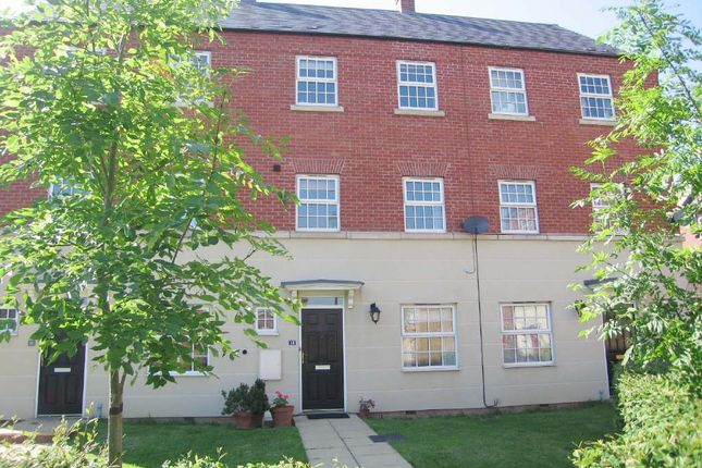Thumbnail Terraced house to rent in Sandpiper Close, Coton Meadows, Rugby, Warwickshire