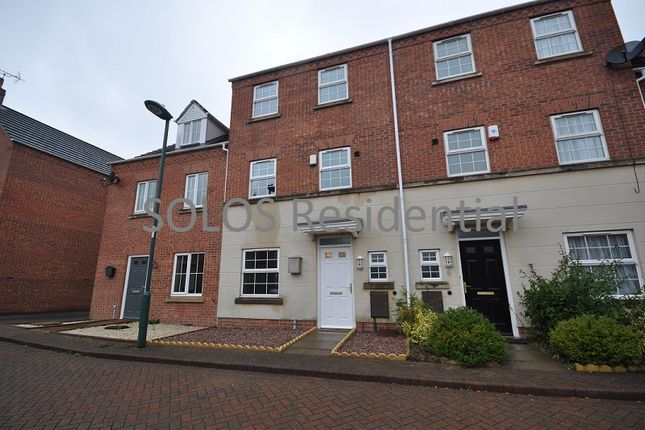 Thumbnail Town house to rent in Blackburn Way, Bestwood, Nottingham