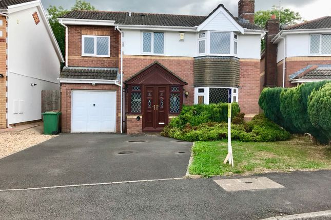Thumbnail Detached house for sale in Llanfedw Close, Badgerswood, Caerphilly