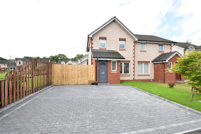 2 bed semi-detached house for sale in Calico Way, Lennoxtown, Glasgow G66