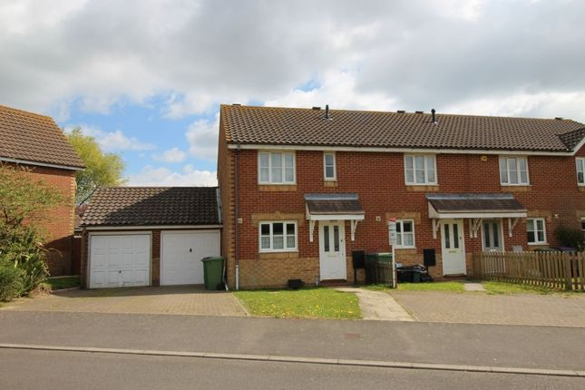 Thumbnail Terraced house to rent in Kettle Drive, Hawkinge, Folkestone