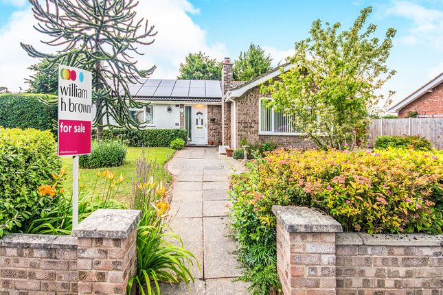 Thumbnail Detached bungalow for sale in Wilkinson Way, North Walsham
