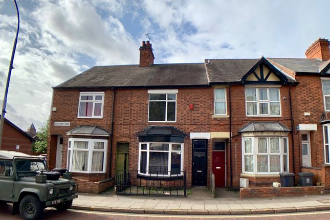 Thumbnail Terraced house to rent in Welford Road, Knighton Fields, Leicester