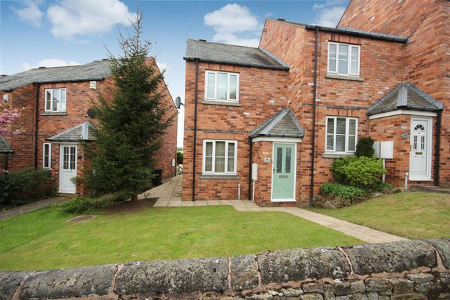Thumbnail End terrace house for sale in Church Street North, Old Whittington, Chesterfield