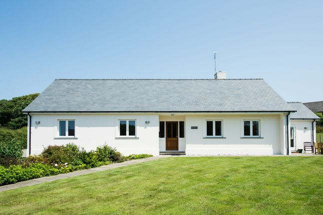 Thumbnail Detached bungalow for sale in Goat Street, St. Davids, Haverfordwest