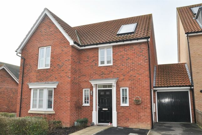 Thumbnail Detached house for sale in Chaplin Mews, Witham, Essex