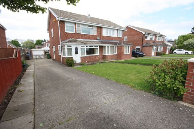 Thumbnail Semi-detached house for sale in Dulverton Way, Guisborough