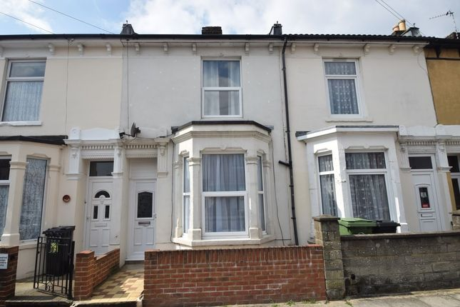 Thumbnail Terraced house to rent in Byron Road, Copnor, Portsmouth