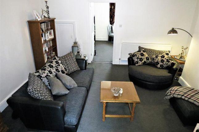 Lounge of Baldwin Street, Easington Colliery, County Durham SR8