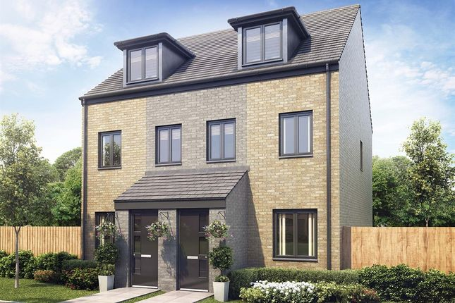 """Thumbnail Semi-detached house for sale in """"The Souter"""" at Aykley Heads, Durham"""
