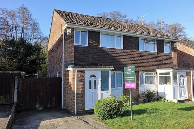 Thumbnail Semi-detached house for sale in Corinna Gardens, Dibden, Southampton