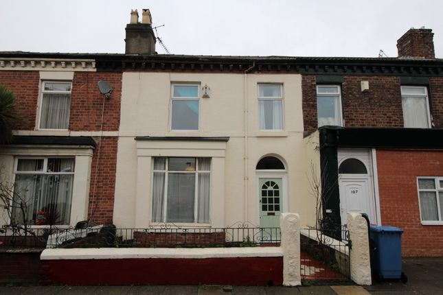 Thumbnail Terraced house for sale in Lawrence Road, Wavertree