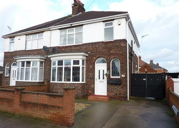 Thumbnail Semi-detached house for sale in Brereton Avenue, Cleethorpes