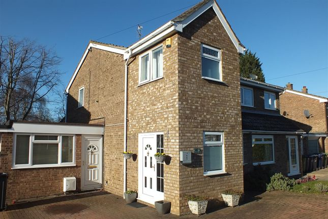Semi-detached house for sale in Manor Grove, Eynesbury, St. Neots