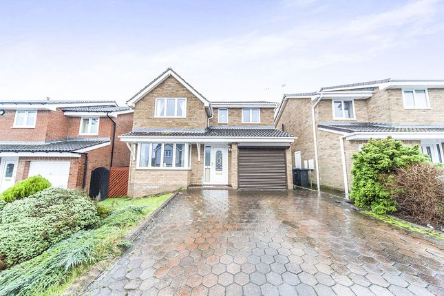 Thumbnail Detached house for sale in Chillingham Drive, Chester Le Street
