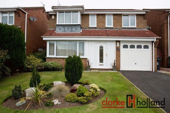 Thumbnail Detached house for sale in Whittingham Close, Ashington