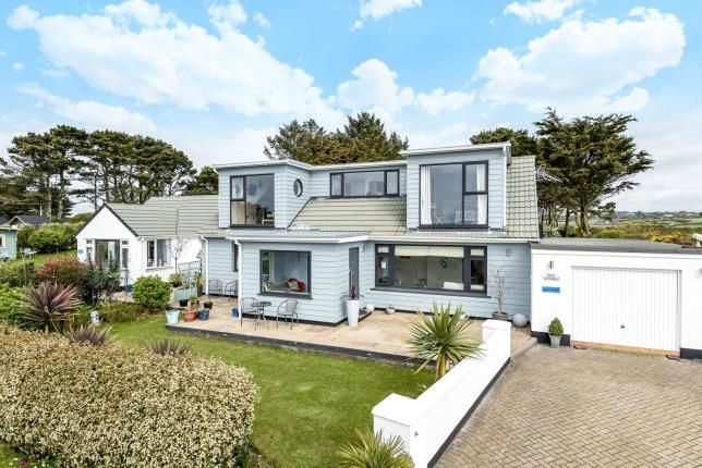 Thumbnail Detached house for sale in Germoe, Penzance, Cornwall