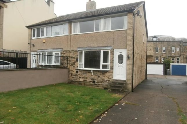 Thumbnail Semi-detached house to rent in Grasmere Road, Marsh, Huddersfield
