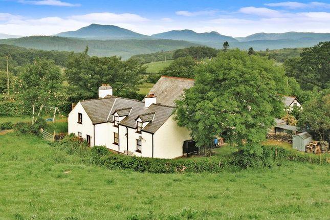 Thumbnail Detached house for sale in Bethania, Capel Garmon, Llanrwst