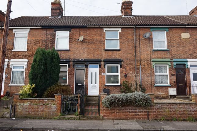 Thumbnail Terraced house for sale in Rectory Road, Ipswich