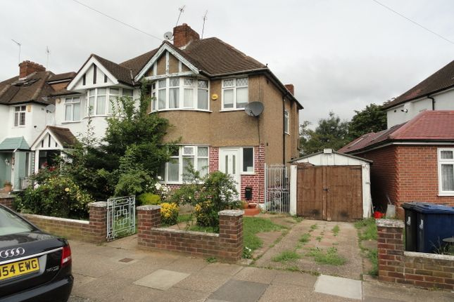 Thumbnail Semi-detached house for sale in Danemead Grove, Northolt