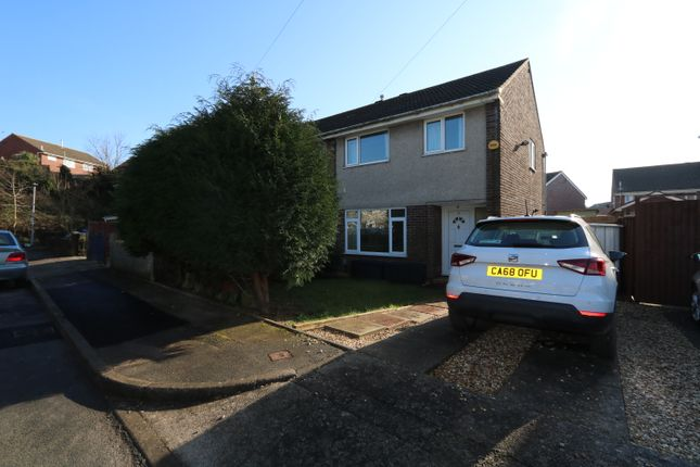 Thumbnail Semi-detached house for sale in Runcorn Close, Barry
