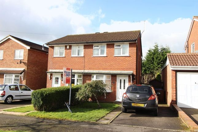 Thumbnail Semi-detached house for sale in Hillcrest, Leek, Staffordshire