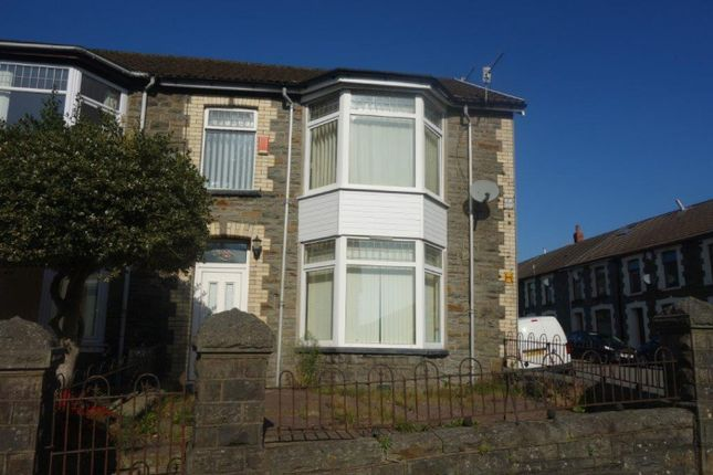 Thumbnail Semi-detached house for sale in Glyncoli Road, Treorchy