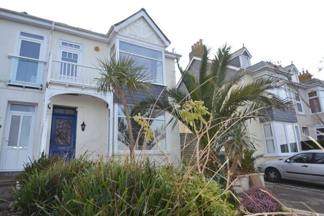 Thumbnail Semi-detached house for sale in St. Ives Road, Carbis Bay, St. Ives