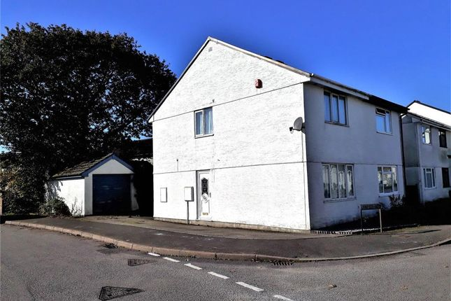 Thumbnail Semi-detached house to rent in Lynher Way, Callington, Cornwall
