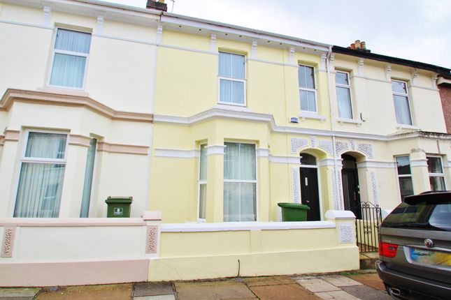Thumbnail Terraced house for sale in Southern Terrace, Mutley, Plymouth