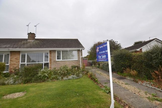 Thumbnail Semi-detached bungalow for sale in St Peters Avenue, Bottesford, Scunthorpe