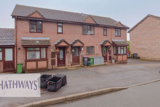 Thumbnail Terraced house for sale in Hawkes Ridge, Ty Canol, Cwmbran