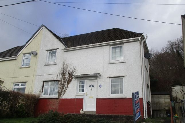 Thumbnail Semi-detached house for sale in Tanyrallt, Abercrave, Swansea.