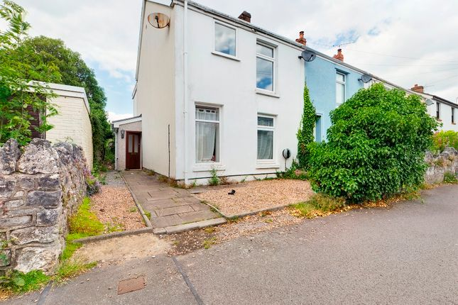 Thumbnail End terrace house for sale in Nottage Road, Newton, Swansea
