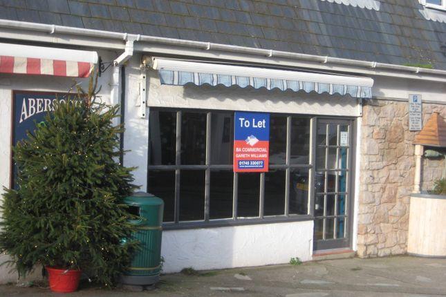 Thumbnail Retail premises to let in Unit 2, Lon Pen Cei, Abersoch, Gwynedd