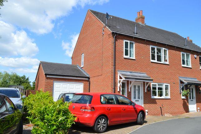 Thumbnail Semi-detached house to rent in Oak Tree View, Market Drayton