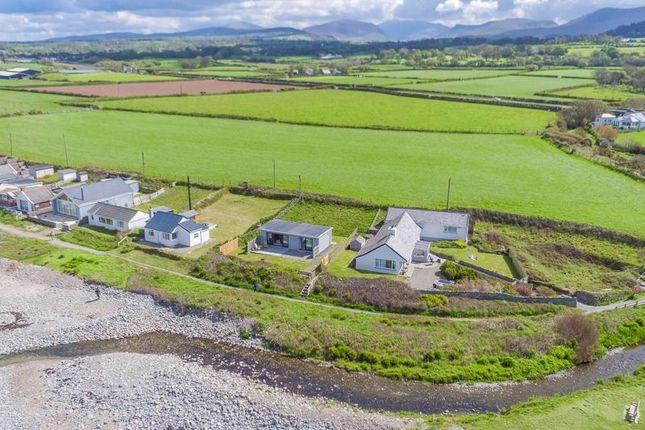 Detached house for sale in Aberdesach, Caernarfon