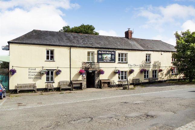 Thumbnail Detached house for sale in The Devil's Stone Inn, Shebbear, Beaworthy