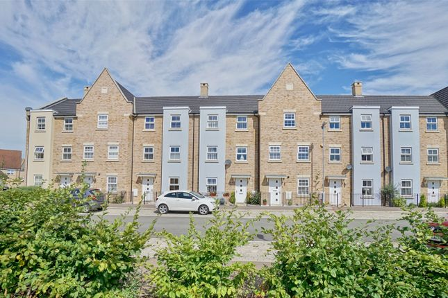 Thumbnail Town house for sale in Buttercup Avenue, Eynesbury, St. Neots, Cambridgeshire