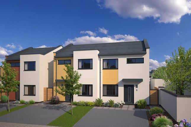 Thumbnail Semi-detached house for sale in The Retreat Drive, Topsham, Exeter