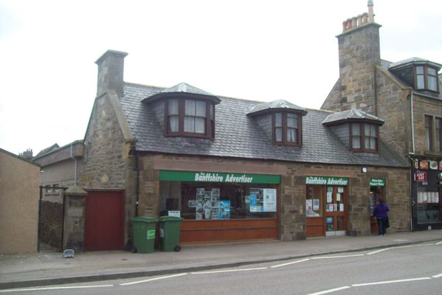 Thumbnail Retail premises for sale in 13-15 West Church Street, Buckie