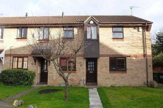 Thumbnail Terraced house to rent in Lansdowne Walk, Peterborough