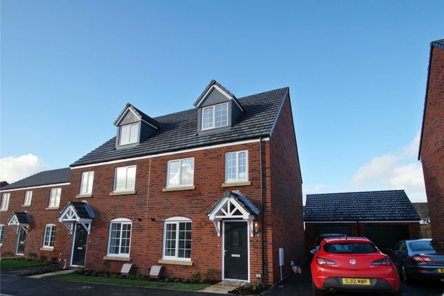 Thumbnail Semi-detached house to rent in Woodgreen Square, Chinnor