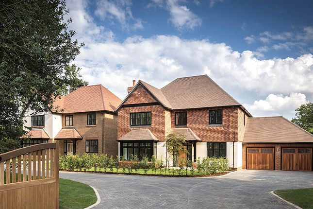 Thumbnail Detached House For Sale In Knights Park Bletchingley Road Godstone