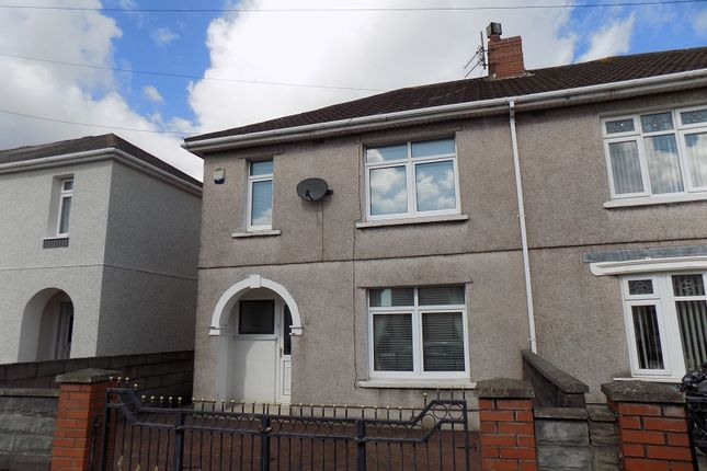 Thumbnail Semi-detached house for sale in St. Davids Road, Port Talbot, Neath Port Talbot.