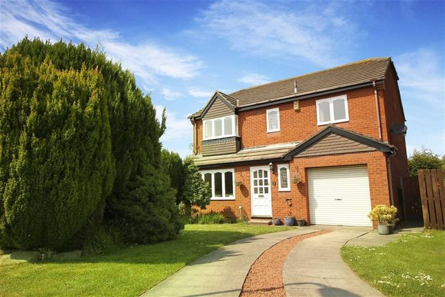 Thumbnail Detached house for sale in Fairways, Whitley Bay, Tyne And Wear